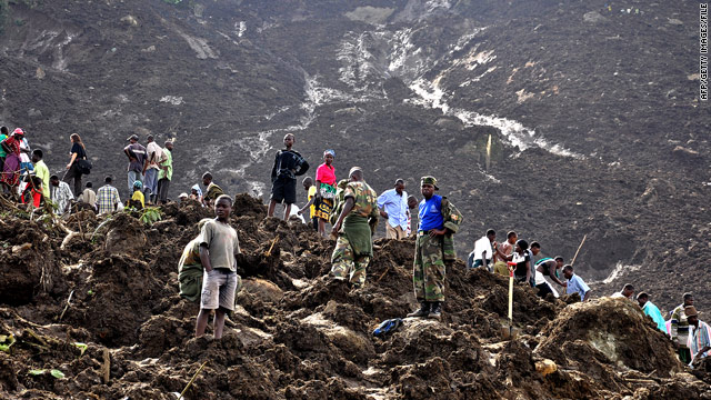 Landslide kills at least 23 in Uganda