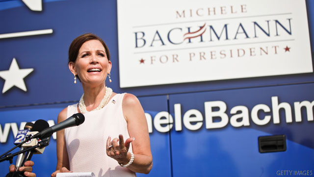 Just a joke: Bachmann's hurricane message from God