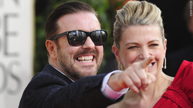 NBC wants Gervais back for the Golden Globes