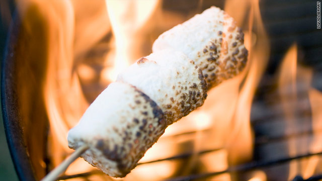 Breakfast buffet: National toasted marshmallow day