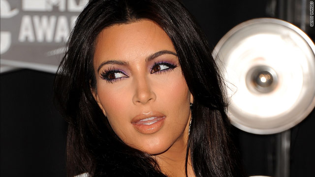 Kim Kardashian and her backside star in video