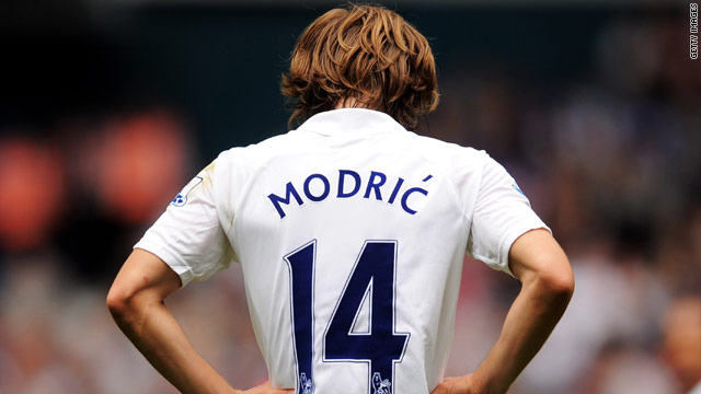 Luka Modric could be heading out of Tottenham on the final day of the transfer window.
