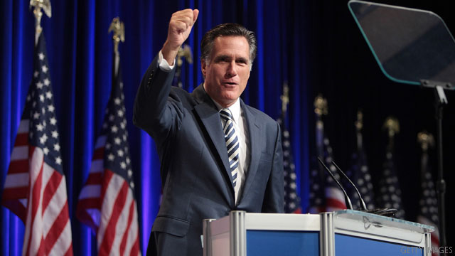 Romney to make first appearance at a major tea party rally