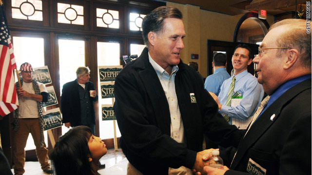 Romney: Liberty comes from strength