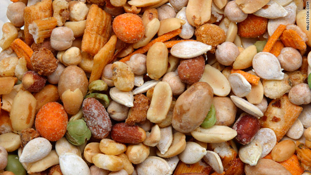 Breakfast buffet: National trail mix day