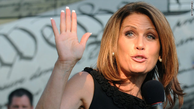 Bachmann accuses president of 'insecurity' over speech date