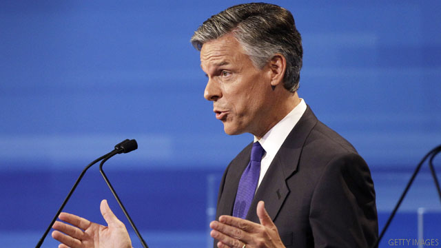 Huntsman plan would restructure tax code