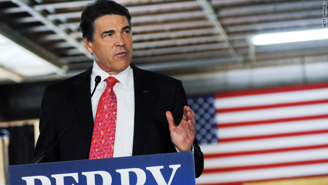 Why is Rick Perry suddenly the darling of the Republican field?