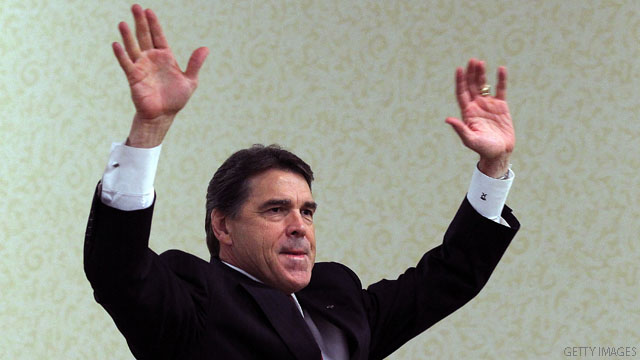 Rick Perry leads in another poll