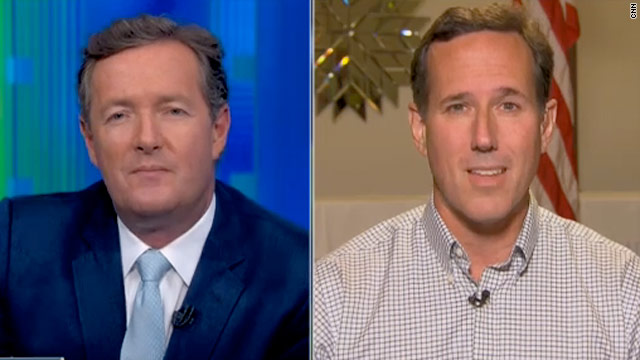 Santorum decries charge of bigotry