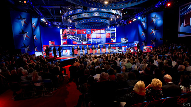 Criteria for the Tea Party Republican Debate