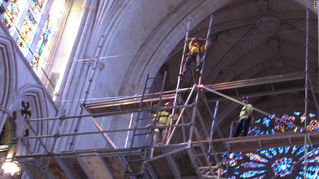 National Cathedral expected to reopen in time for 9/11 anniversary