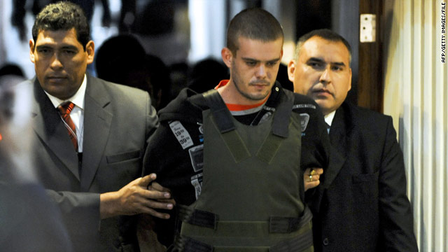 Van der Sloot charged with murder in Peru
