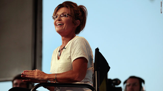 Palin will up the ante but not announce run in Iowa speech