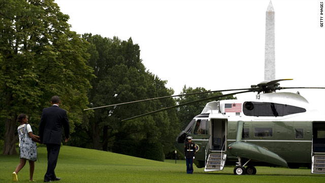 White House diverts Marine One, raises questions