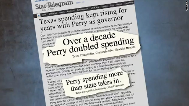 Perry blasts pro-Bachmann super PAC's ad