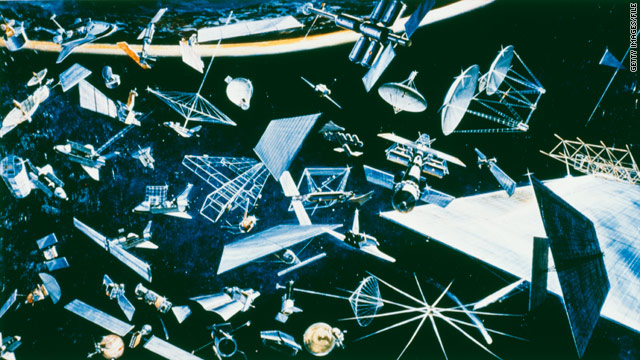 Report meteoroids space junk pose increasing dangers to spacecraft