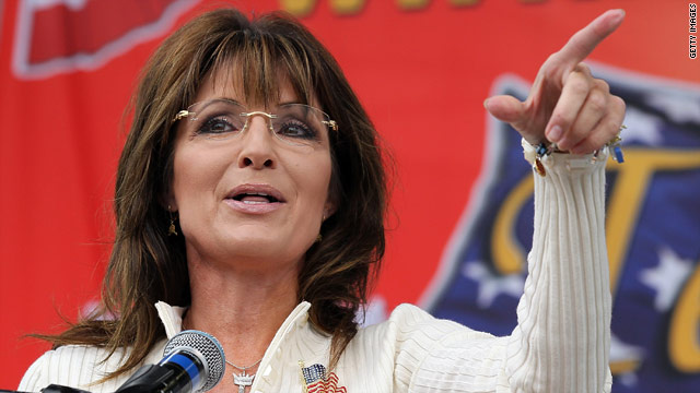 Palin positions herself as populist outsider in Iowa speech