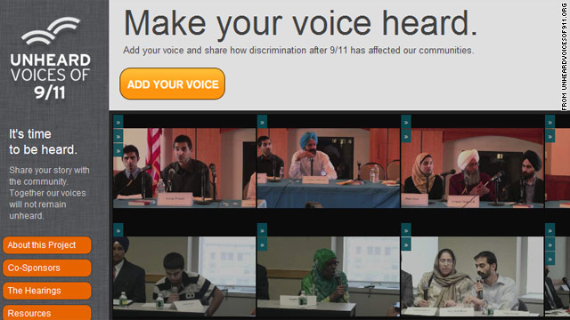 Website aims to show post-9/11 discrimination against Muslims, Sikhs