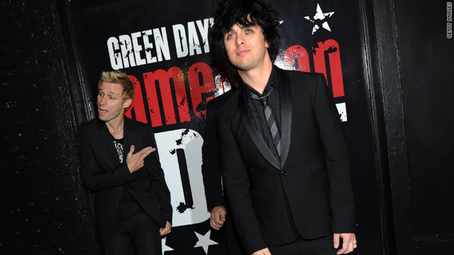 Billie Joe Armstrong's pants get him grounded