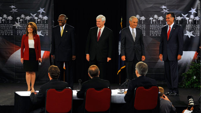 5 GOP candidates compete at South Carolina forum