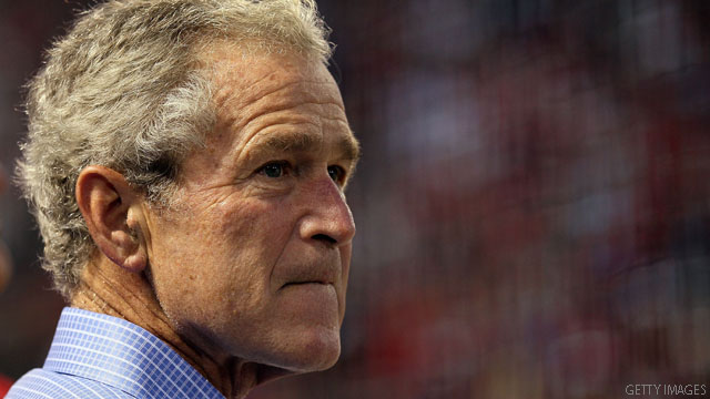 Bush: No sense of jubilation at bin Laden's death