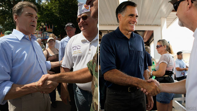 Poll: Romney and Perry tied in California