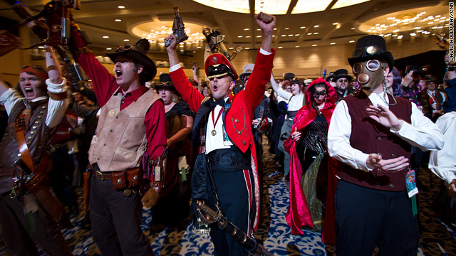 Steampunk trend barrels ahead at Dragon*Con