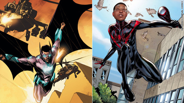 Are comics becoming more diverse?