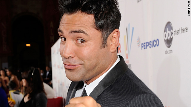 Oscar De La Hoya admits drag photos are real