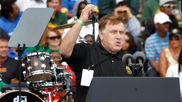 Hoffa responds, reaffirms tea party remarks