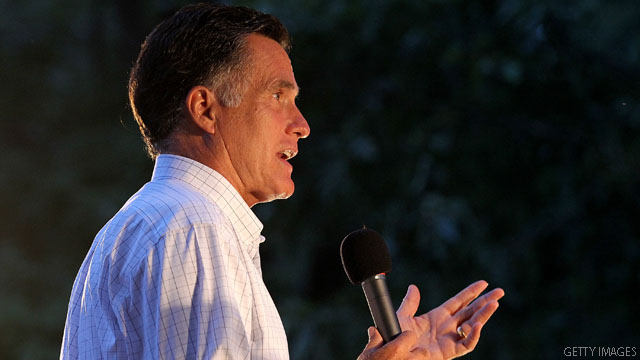 Romney gets hit from both sides