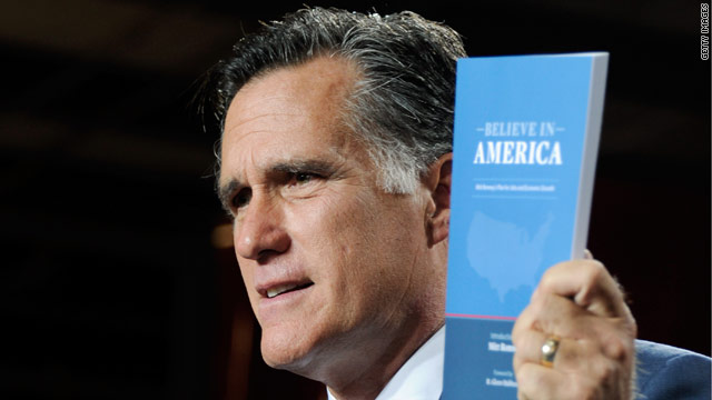 Campaigns react to Romney jobs plan