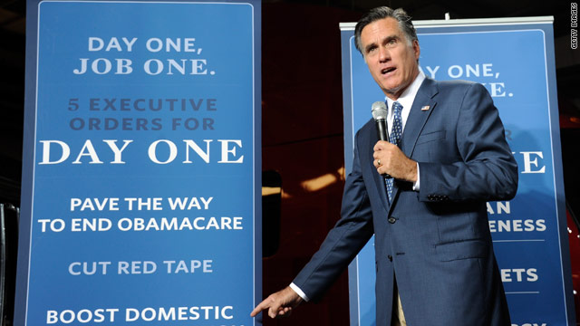 Romney unveils his jobs plan with a dig at Obama