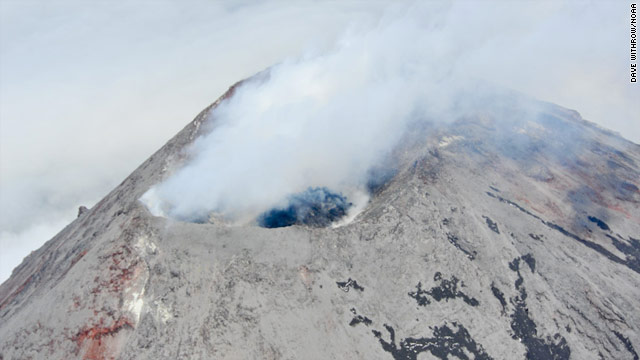 Remote Alaska volcano might erupt soon, experts say
