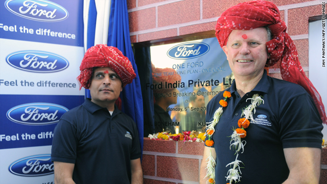 Message sent by Ford opening new plant in India?