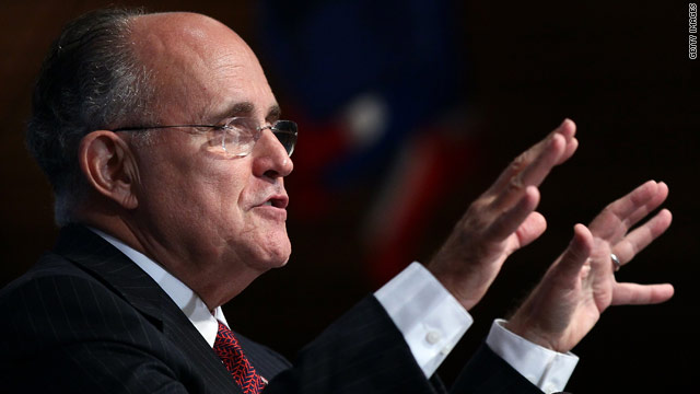 "Giuliani: ""I could beat Obama…"""