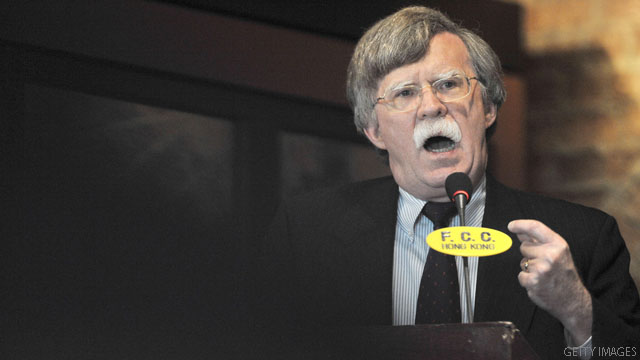 Bolton won't run for president