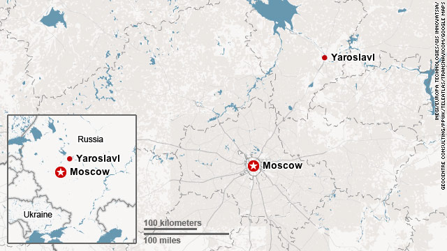 Plane crashes during takeoff in Russia, killing 43