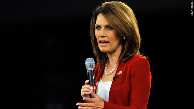 Bachmann to react to Obama's job speech