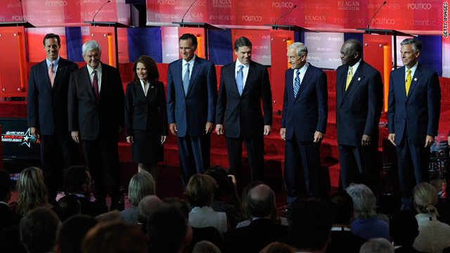 2012 GOP candidates react to Obama's speech on jobs