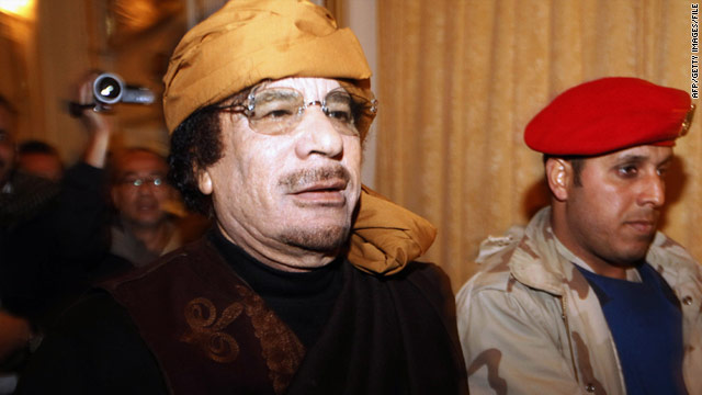 Interpol issues arrest warrants for Gadhafi, two others