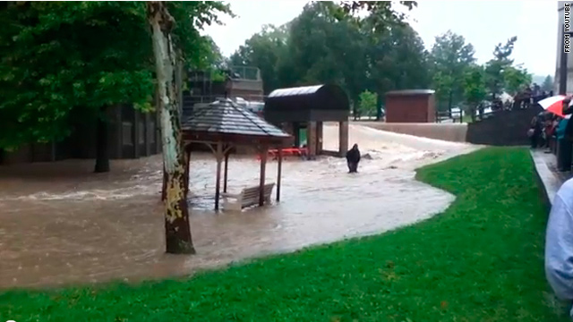Flooding cancels classes at New York college campus