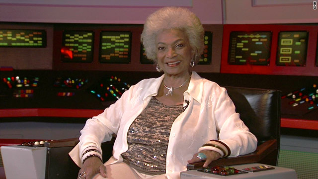 Lt. Uhura's NASA homecoming