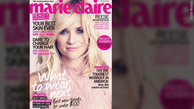 Reese Witherspoon: I'm relieved I remarried