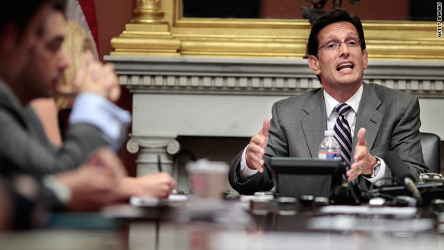 Cantor sees common ground between Dems, GOP