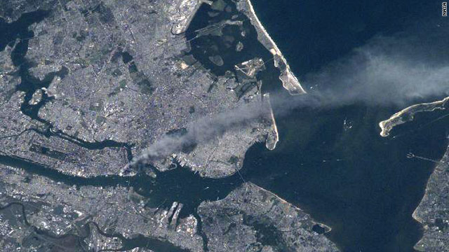 9/11 from space: Astronaut shares pictures and thoughts