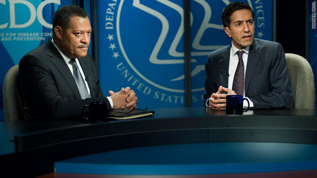 Dr. Sanjay Gupta on his role in 'Contagion'