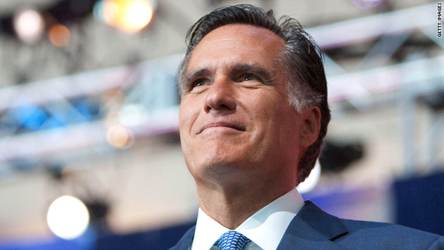 BORGER: Mitt Romney, waiting for yes