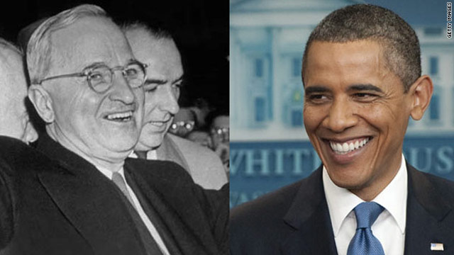 Obama as Truman: 'Give 'em hell, Barry'?